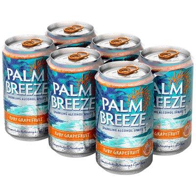 Palm Breeze Ruby Grapefruit Sparkling Alcohol Spritz Ruby Grapefruit Sparkling Alcohol Spritz