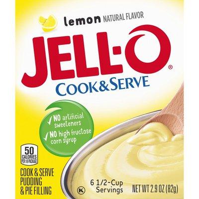 Jell-O Lemon Pudding & Pie Filling Mix