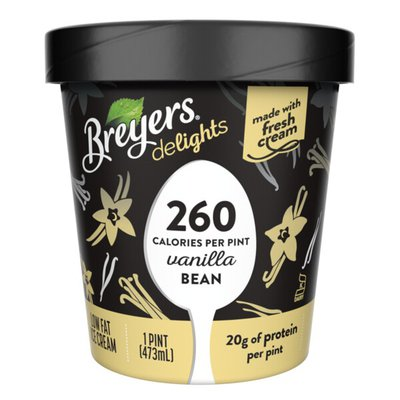 Breyers Low Fat Ice Cream Vanilla Bean
