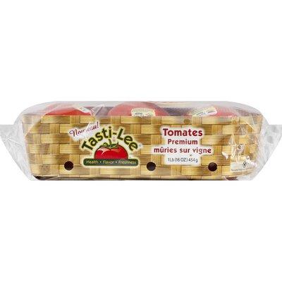 Tasti-Lee Tomatoes, Premium, Vine-Ripened