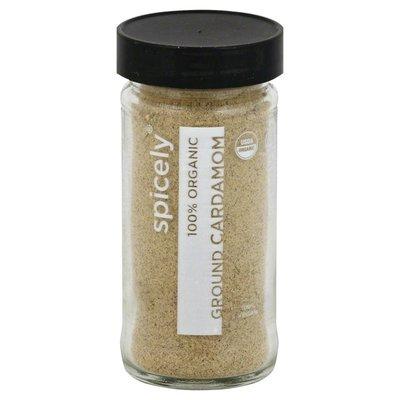 Spicely Cardamom, Ground, 100% Organic