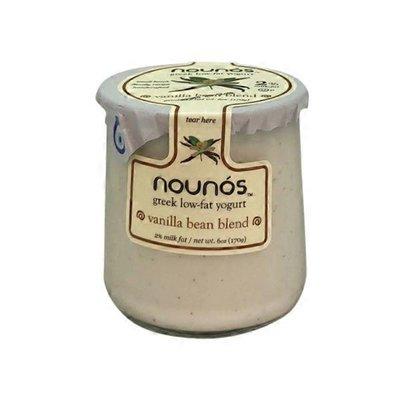 Nounos Vanilla Bean Blend Greek Low-fat Yogurt