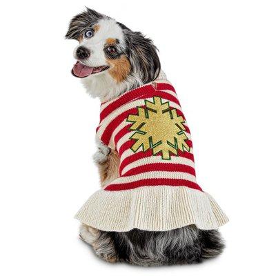 Extra Extra Small Holiday Snowflake Dress