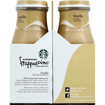 Starbucks Coffee Drink, Chilled, Vanilla