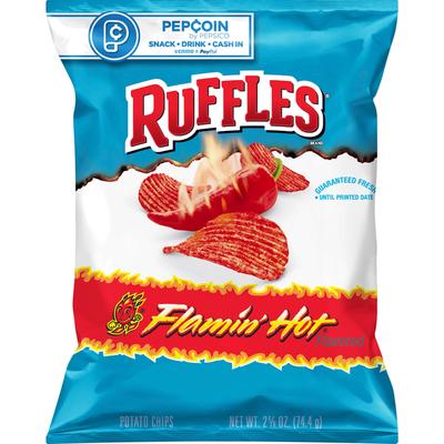 Ruffles Flamin Hot Potato Chips