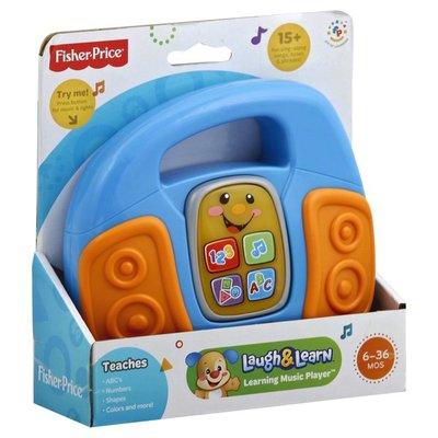Fisher-Price Music Player, Learning