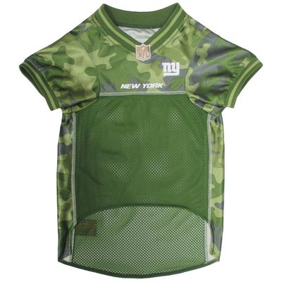 Pets First Extra Small NFL New York Giants Camo Pet Jersey