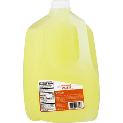 Guaranteed Value Flavored Drink Lemon
