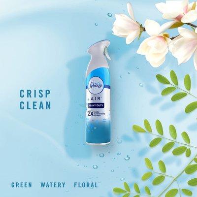 Febreze Odor-Eliminating Freshener, Heavy Duty Crisp Clean