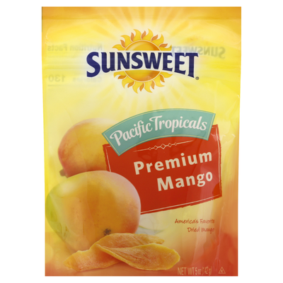 Sunsweet Dried Mango, Premium, Pacific Tropicals