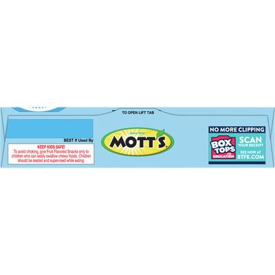 Mott's Assorted Fruit Flavored Snacks, 10 Count