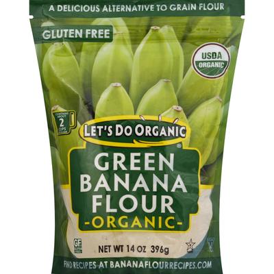 Let's Do Organic Flour, Organic, Green Banana Flour