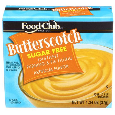 Food Club Butterscotch Instant Pudding & Pie Filling
