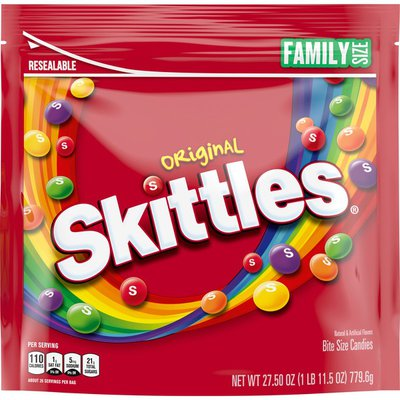 Skittles Original Candy Stand Up Pouch