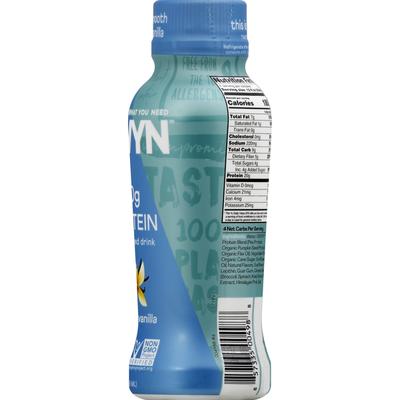 Owyn Protein Drink, Plant-Based, Smooth Vanilla