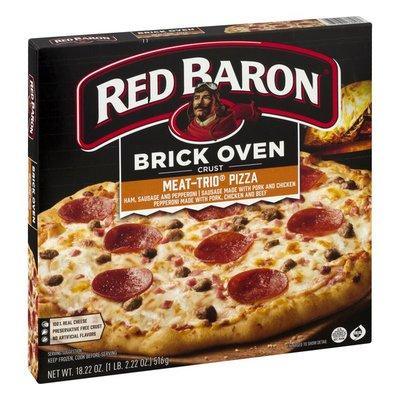Red Baron Pizza, Brick Oven Crust Meat-Trio