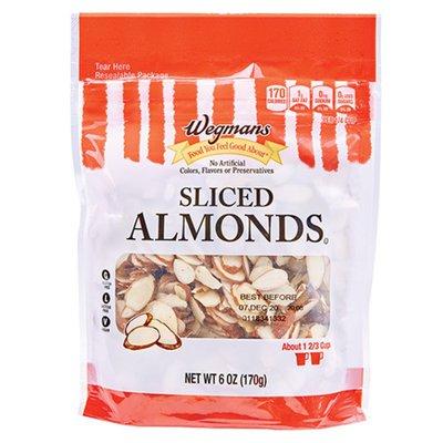 Wegmans Food You Feel Good About Sliced Almonds
