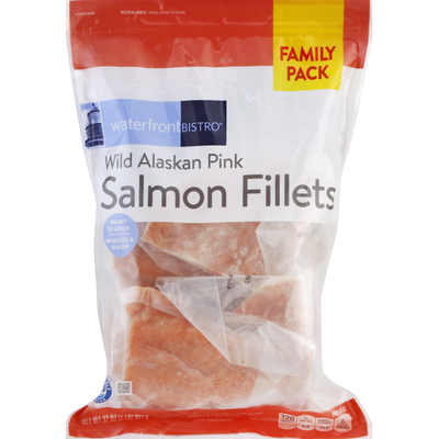 Signature Kitchens Salmon Fillets, Wild Alaskan Pink, Family Pack