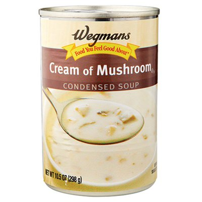 Wegmans Food You Feel Good About Soup, Condensed, Cream of Mushroom
