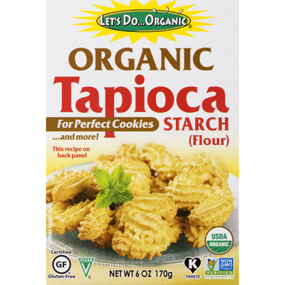 Let's Do...Organic Tapioca Starch (Flour)