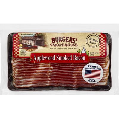 Burgers Smokehouse Bacon, Applewood Smoked