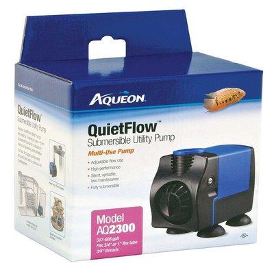 Aqueon Quiet Flow Submersible Utility Pump Model AQ2300