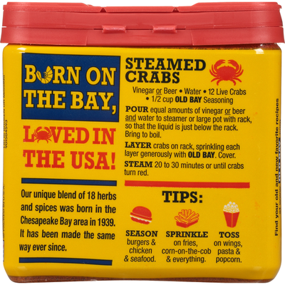 Old Bay® Classic Seafood Seasoning