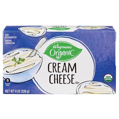Wegmans Organic Food You Feel Good About Cream Cheese
