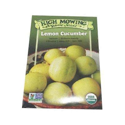 High Mowing Organic Seeds O.Lemon Cucumber Seeds