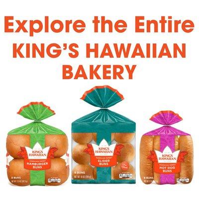 King's Hawaiian Round Hawaiian Sweet Bread