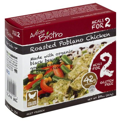 Artisan Bistro Chicken, Roasted Poblano, Gluten Free, Box