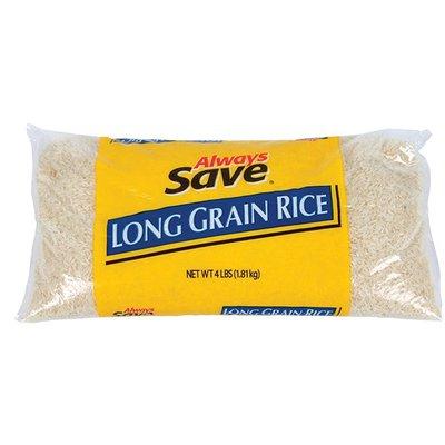 Always Save Long Grain Rice