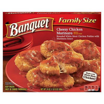 Banquet Cheesy Chicken Marinara Dinner