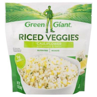 Green Giant Riced Veggies Cauliflower with Lemon & Garlic