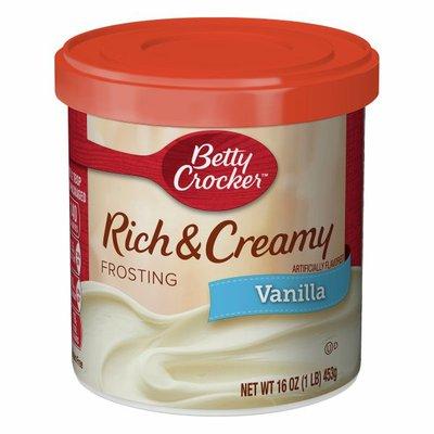 Betty Crocker Gluten Free Vanilla Frosting