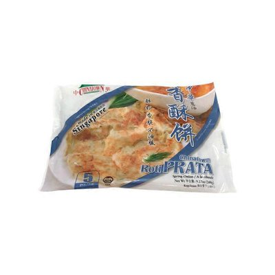 Mandarin Roti Prata With Spring Onion