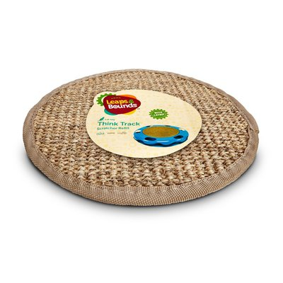 Leaps & Bounds Cat Toy Think Track Scratcher Refill With Catnip