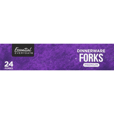 Essential Everyday Forks, Dinnerware, Premium