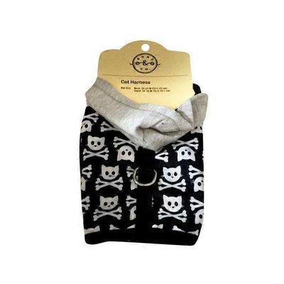 Bond Black Kitty Skull Cat Harness
