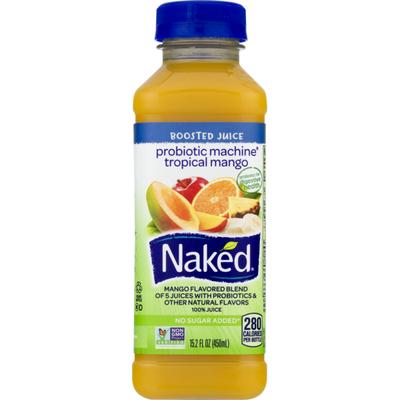 Naked Probiotic Machine Tropical Mango Juice Smoothie