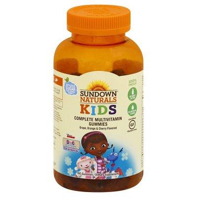 Sundown Naturals Complete Multivitamin, Gummies, Disney Junior Doc McStuffins Toy Hospital