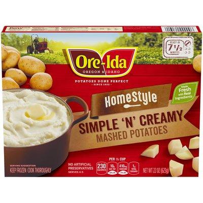Ore-Ida Homestyle Simple N' Creamy Mashed Potatoes