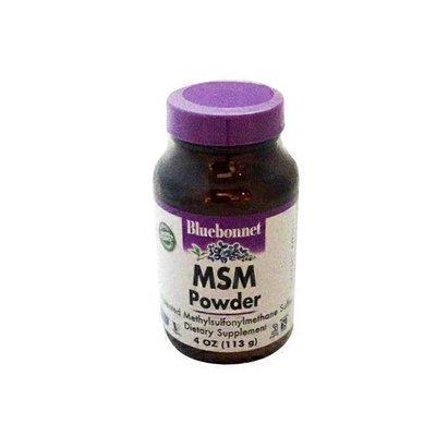 Bluebonnet Msm Powder Dietary Supplement