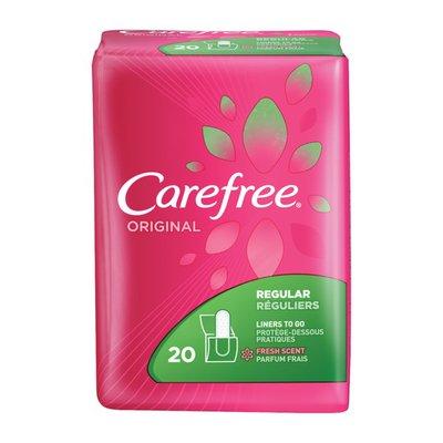 CAREFREE Liners, Regular, Fresh Scent, Original