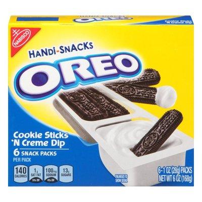 Handi-Snacks Oreo Cookie Sticks 'n Creme Dip