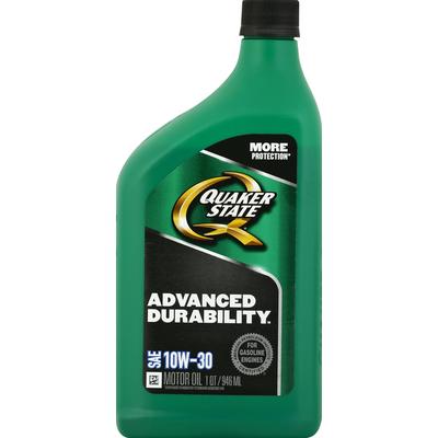 Quaker State Motor Oil, SAE 10W-30