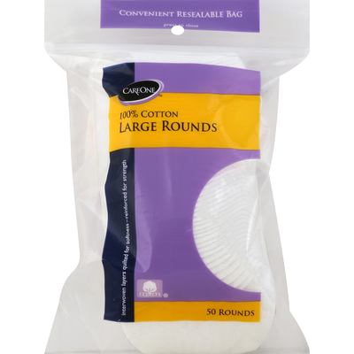 CareOne Cotton Rounds Large