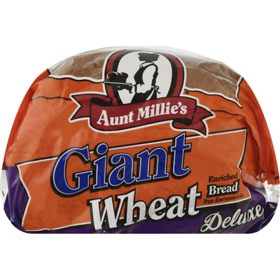 Aunt Millie's Bread, Wheat, Giant