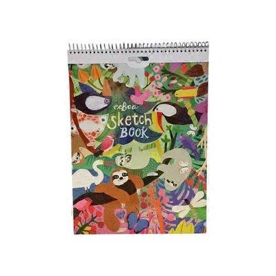 Eeboo Sloth In A Hurry Action Sketchbook