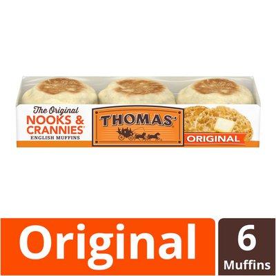 Thomas' Original Nooks & Crannies English Muffins